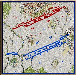 Strategy Game Battle Maps War of the Austrian Succession on
